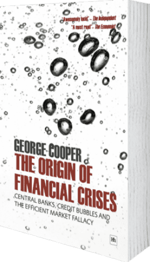 Cover of The Origin of Financial Crises (Paperback) by George Cooper