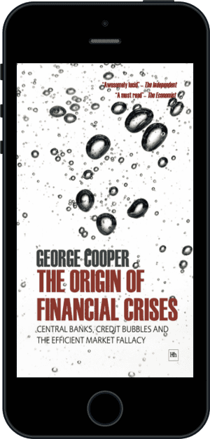 Cover of The Origin of Financial Crises (Ebook - phone) by George Cooper