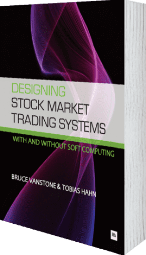 Cover of Designing Stock Market Trading Systems by Bruce Vanstone andTobias Hahn