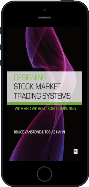 Cover of Designing Stock Market Trading Systems (Ebook - phone) by Bruce Vanstone andTobias Hahn