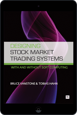 Cover of Designing Stock Market Trading Systems (Ebook - tablet) by Bruce Vanstone andTobias Hahn