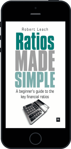 Cover of Ratios Made Simple (Ebook - phone) by Robert Leach