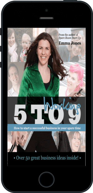 Cover of Working 5 to 9 (Ebook - phone) by Emma Jones