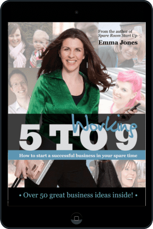 Cover of Working 5 to 9 (Ebook - tablet) by Emma Jones