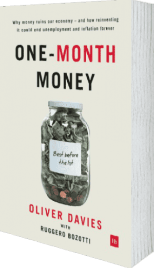 Cover of One-Month Money (Hardback) by Oliver Davies