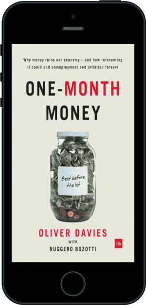 Cover of One-Month Money (Ebook - phone) by Oliver Davies