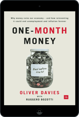 Cover of One-Month Money (Ebook - tablet) by Oliver Davies