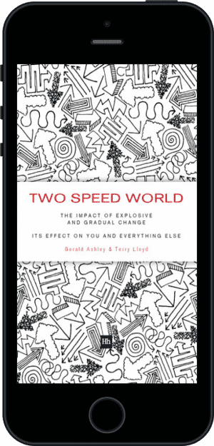 Cover of Two Speed World (Ebook - phone) by Gerald Ashley andTerry Lloyd