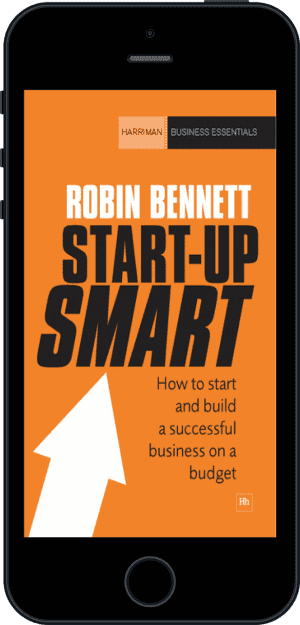 Cover of Start-up Smart (Ebook - phone) by Robin Bennett