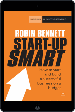 Cover of Start-up Smart (Ebook - tablet) by Robin Bennett