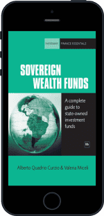 Cover of Sovereign Wealth Funds by Alberto Quadrio Curzio andValeria Miceli