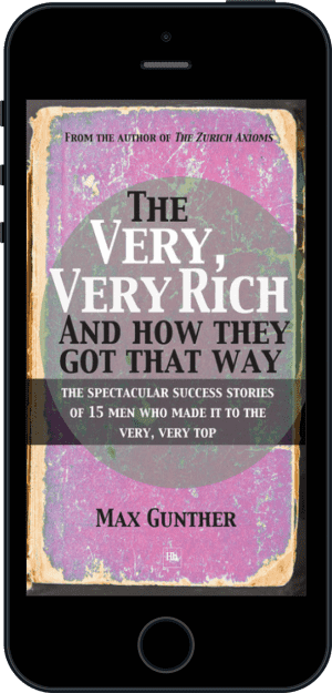 Cover of The Very, Very Rich and How They Got That Way (Ebook - phone) by Max Gunther