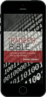 Cover of The UK Trader's Bible by Dominic Connolly