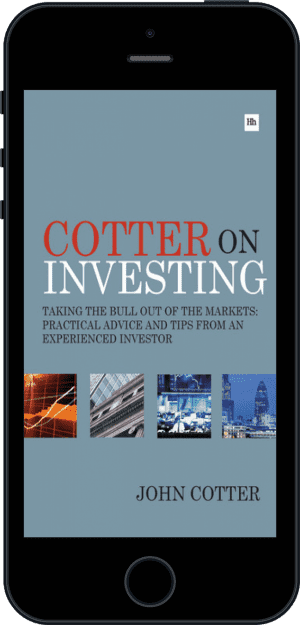 Cover of Cotter On Investing (Ebook - phone) by John Cotter