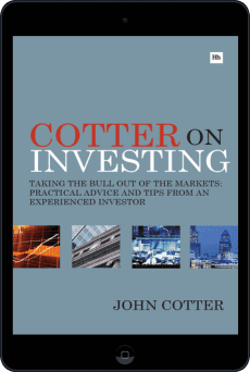 Cover of Cotter On Investing by John Cotter