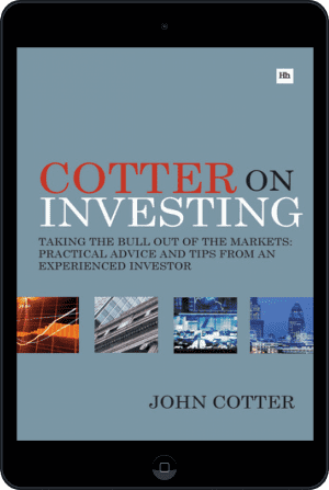 Cover of Cotter On Investing (Ebook - tablet) by John Cotter