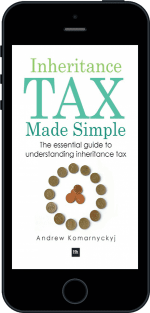 Cover of Inheritance Tax Made Simple (Ebook - phone) by Andrew Komarnyckyj