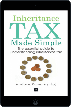 Cover of Inheritance Tax Made Simple (Ebook - tablet) by Andrew Komarnyckyj