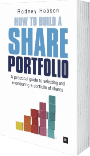 Cover of How to Build a Share Portfolio by Rodney Hobson