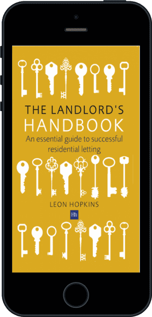 Cover of The Landlord's Handbook (Ebook - phone) by Leon Hopkins