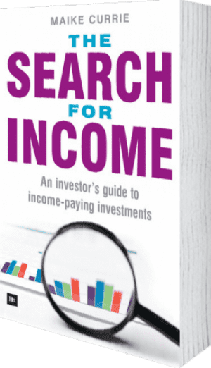 Cover of The Search for Income by Maike Currie