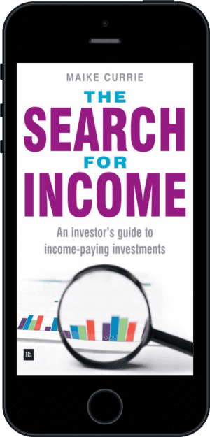 Cover of The Search for Income (Ebook - phone) by Maike Currie