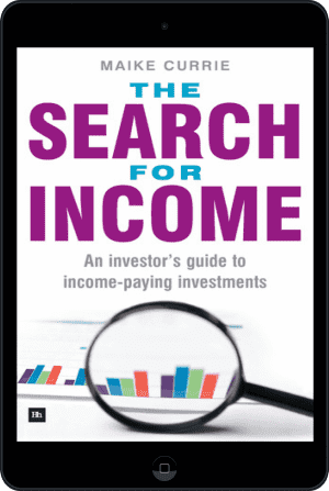 Cover of The Search for Income (Ebook - tablet) by Maike Currie