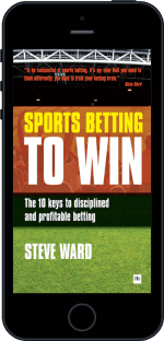 Cover of Sports Betting to Win by Steve Ward