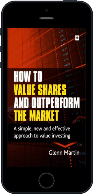 Cover of How to Value Shares and Outperform the Market (Ebook - phone) by Glenn Martin