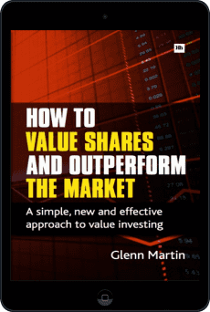 Cover of How to Value Shares and Outperform the Market by Glenn Martin