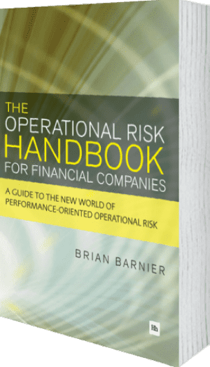 Cover of The Operational Risk Handbook for Financial Companies by Brian Barnier