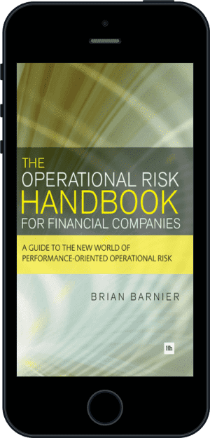 Cover of The Operational Risk Handbook for Financial Companies (Ebook - phone) by Brian Barnier