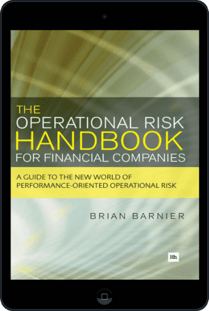 Cover of The Operational Risk Handbook for Financial Companies (Ebook - tablet) by Brian Barnier