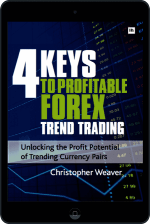 Cover of 4 Keys to Profitable Forex Trend Trading (Ebook - tablet) by Christopher Weaver