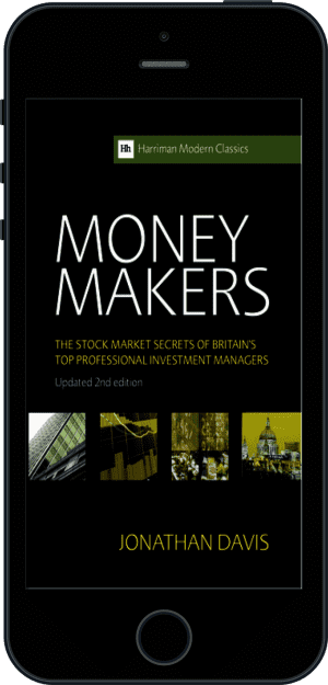Cover of Money Makers (Ebook - phone) by Jonathan Davis