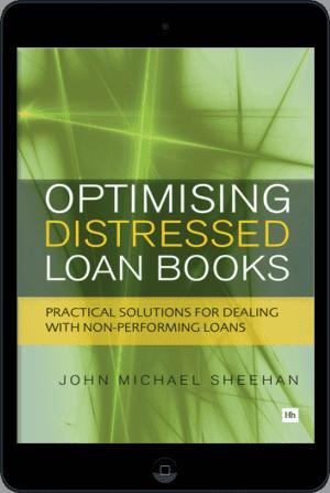 Cover of Optimising Distressed Loan Books (Ebook - tablet) by John Michael Sheehan