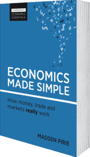 Cover of Economics Made Simple (Paperback) by Madsen Pirie
