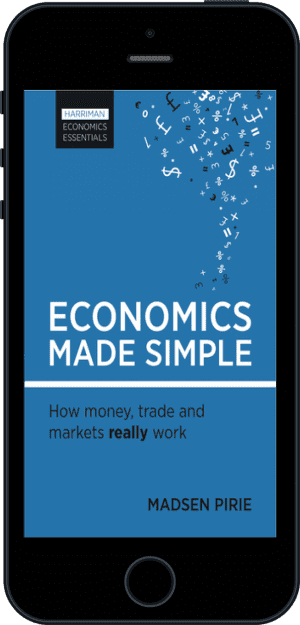Cover of Economics Made Simple (Ebook - phone) by Madsen Pirie