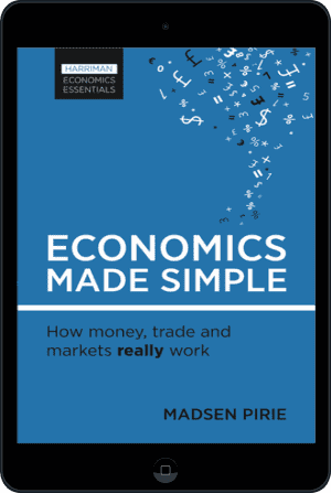 Cover of Economics Made Simple (Ebook - tablet) by Madsen Pirie