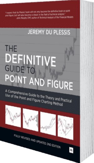 Cover of The Definitive Guide to Point and Figure by Jeremy du Plessis