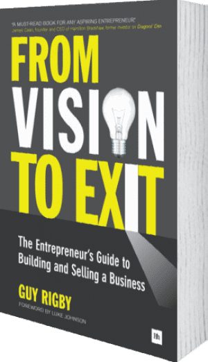 Cover of From Vision to Exit (Paperback) by Guy Rigby