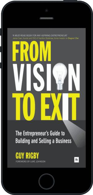 Cover of From Vision to Exit (Ebook - phone) by Guy Rigby