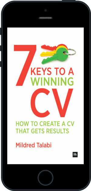 Cover of 7 Keys to a Winning CV (Ebook - phone) by Mildred Talabi