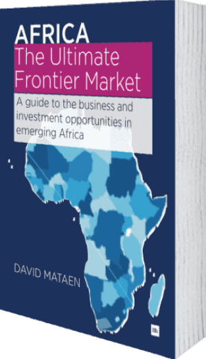 Cover of Africa - The Ultimate Frontier Market (Paperback) by David Mataen