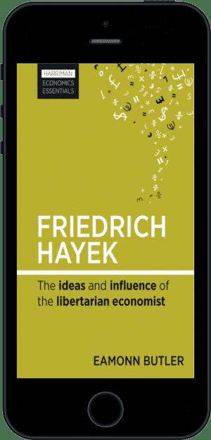 Cover of Friedrich Hayek (Ebook - phone) by Eamonn Butler