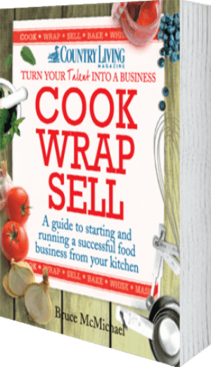 Cover of Cook Wrap Sell by Bruce McMichael