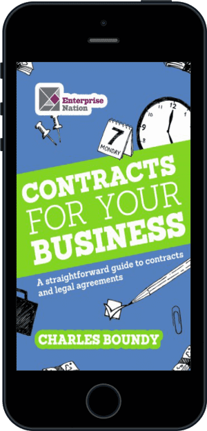 Cover of Contracts for Your Business (Ebook - phone) by Charles Boundy