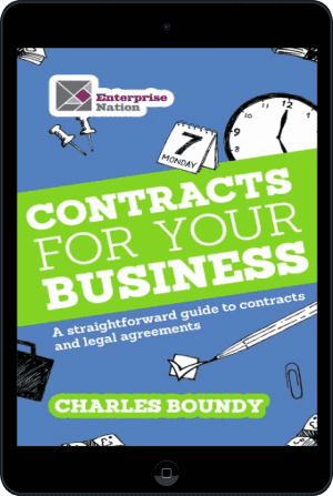 Cover of Contracts for Your Business (Ebook - tablet) by Charles Boundy