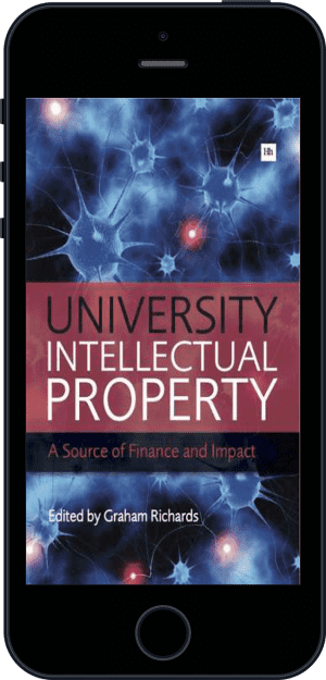 Cover of University Intellectual Property (Ebook - phone) by Graham Richards