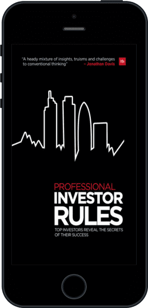 Cover of Professional Investor Rules (Ebook - phone) by Jonathan Davis